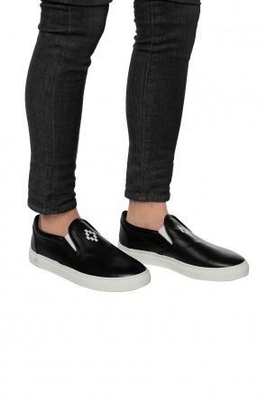 Logo slip-on sneakers od Marcelo Burlon