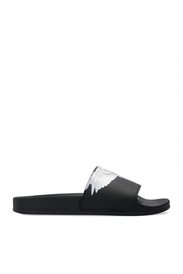 Marcelo Burlon Slides with logo