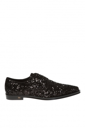 Sequined derby shoes od Dolce & Gabbana