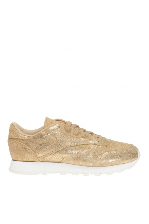 'classic leather shimmer' sneakers od Reebok