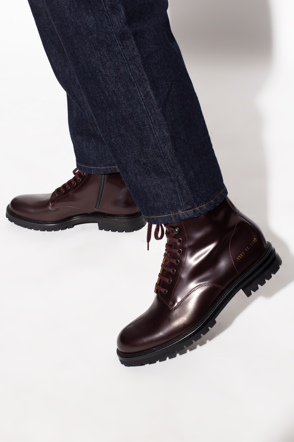 Common Projects 'Combat' ankle boots