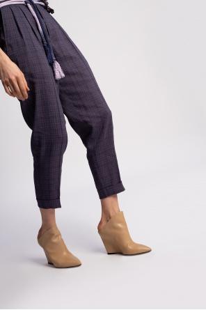 'minimal' wedge shoes od Isabel Marant