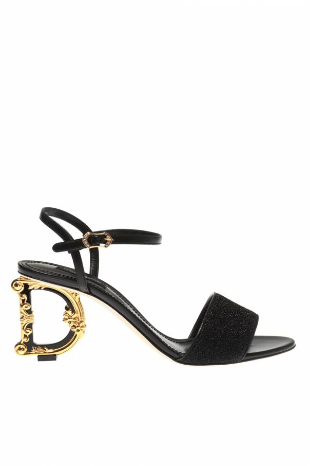 Dolce & Gabbana Decorative heel sandals