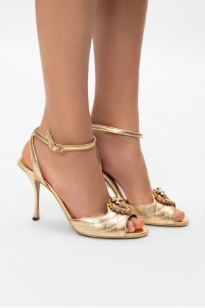Stiletto heeled sandals od Dolce & Gabbana