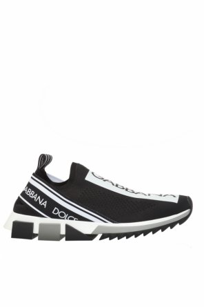Slip-on sneakers with logo od Dolce & Gabbana