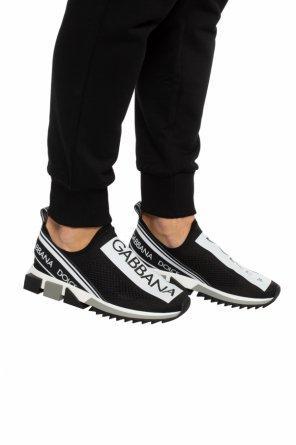 Wsuwane buty sportowe z logo od Dolce & Gabbana