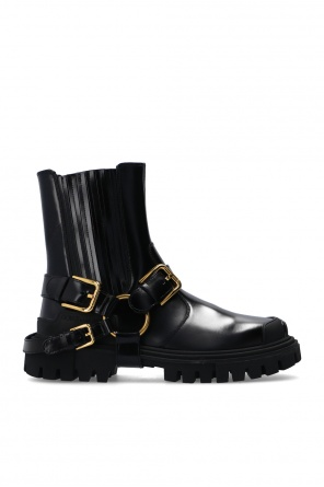 Leather ankle boots od Dolce & Gabbana