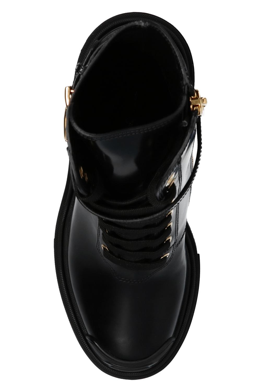 Dolce & Gabbana 高跟皮靴