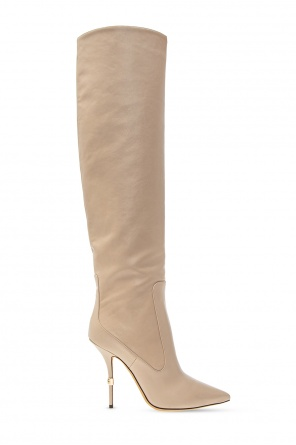 'cardinale' heeled over-the-knee boots od Dolce & Gabbana