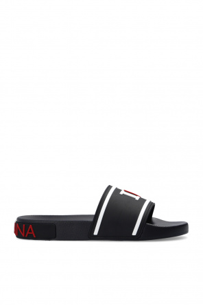 Slides with logo od Dolce & Gabbana