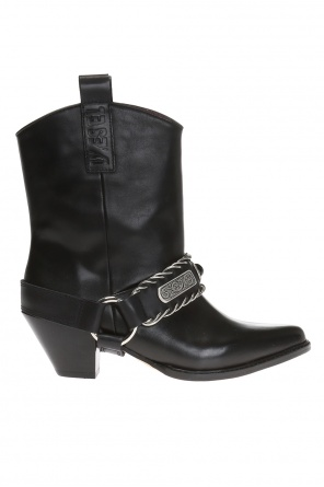 'd-cat boy bc' heeled ankle boots od Diesel