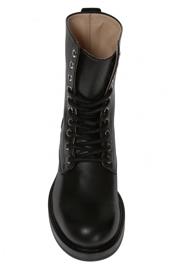 1ea1153ec807b Sznurowane buty za kostkę 'D-Komb' Diesel - sklep internetowy Vitkac