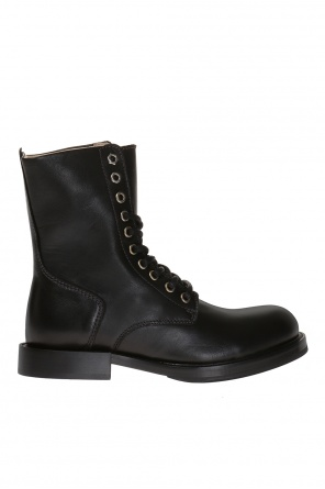 'd-komb' lace-up ankle boots od Diesel