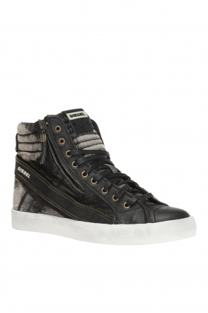 'd-string' high-top sneakers od Diesel