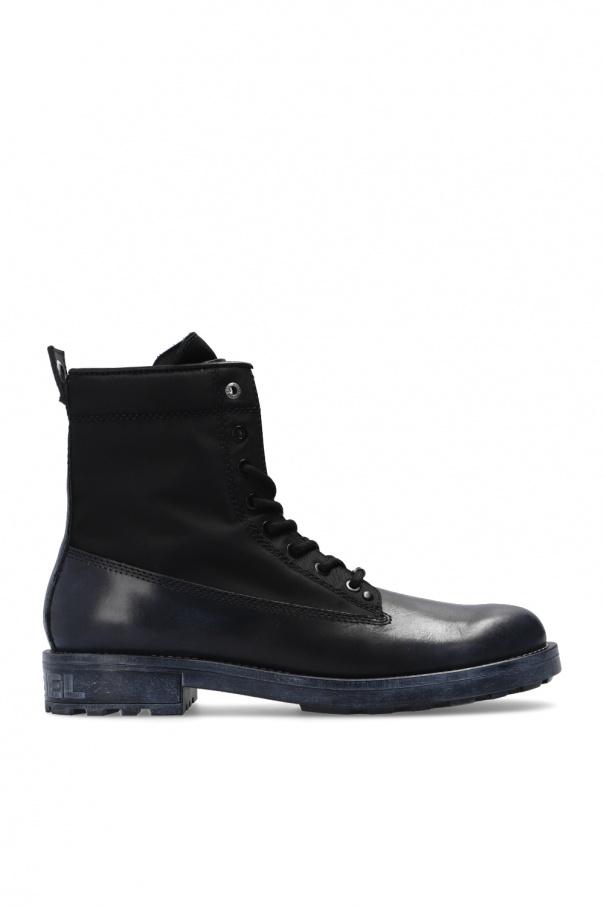 Diesel 'D-Throuper' lace-up boots