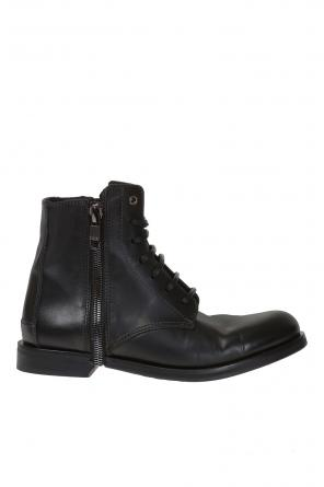 'd-zipphim boot' lace-up ankle boots od Diesel