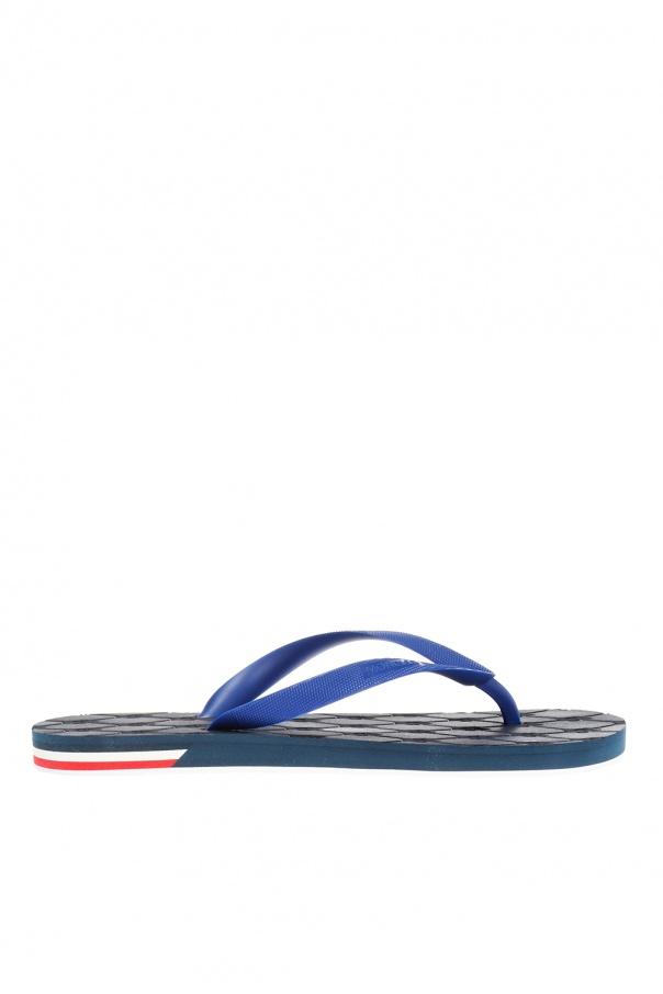7e104a04db74 Logo-embossed flip-flops Moncler - Vitkac shop online