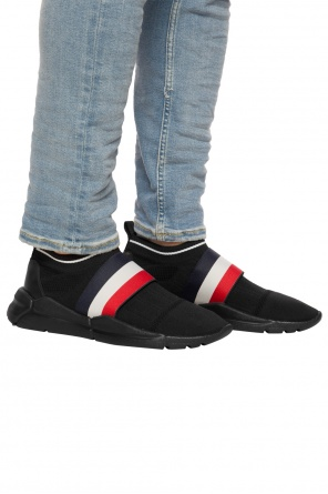 'adon' sneakers with sock od Moncler