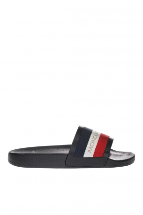 'jeanne' logo-embroidered slides od Moncler