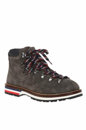 Peak' suede boots od Moncler