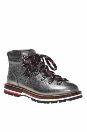'blanche' lace-up boots od Moncler