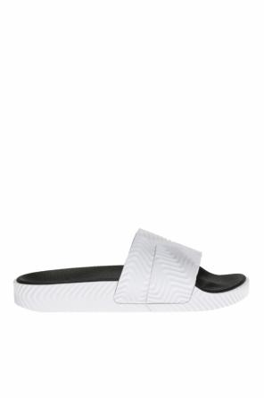 'adilette' ribbed slides od ADIDAS by Alexander Wang