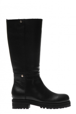Leather 'debate' boots od Jimmy Choo