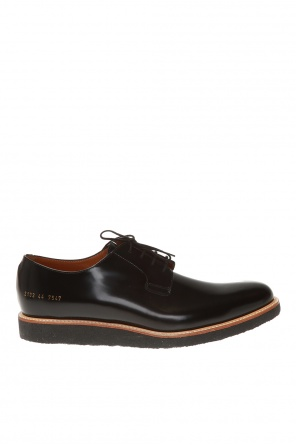 'derby' leather shoes od Common Projects