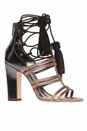 'diamond' heeled sandals od Jimmy Choo