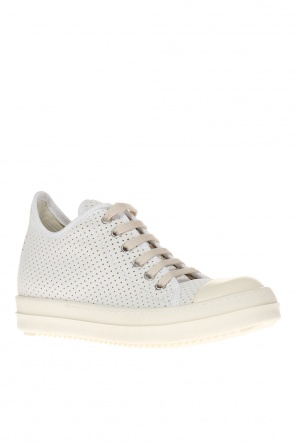 Perforated lace-up sneakers od Rick Owens DRKSHDW