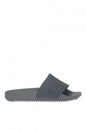Slides with raised pattern od Rick Owens DRKSHDW