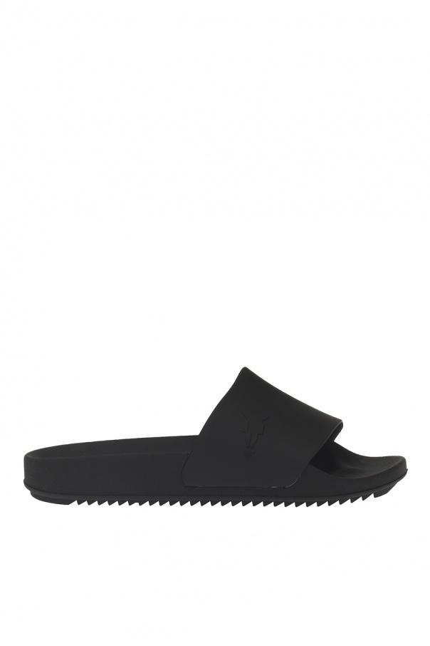 e381ff406910 Slippers with a convex logo Rick Owens DRKSHDW - Vitkac shop online