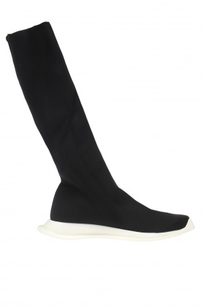 Knee-high sneakers with sock od Rick Owens DRKSHDW