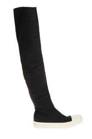 Over-the-knee sneakers od Rick Owens DRKSHDW