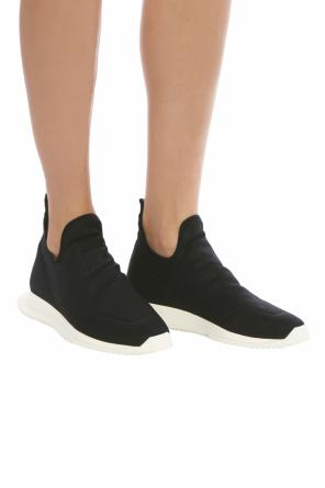 'new runner' sneakers with sock od Rick Owens DRKSHDW