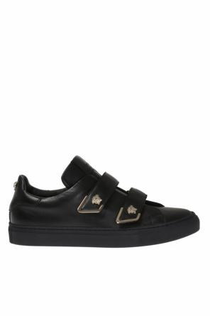 Metal medusa head sneakers od Versace