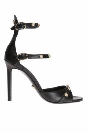 Medusa head stiletto sandals od Versace