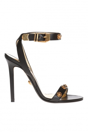 Adorned heeled sandals od Versace
