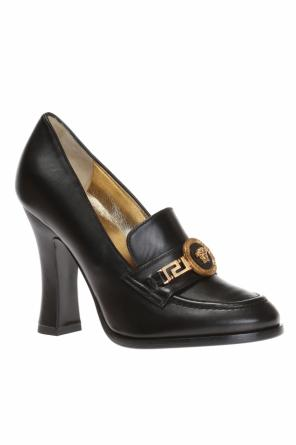 Heeled loafers od Versace