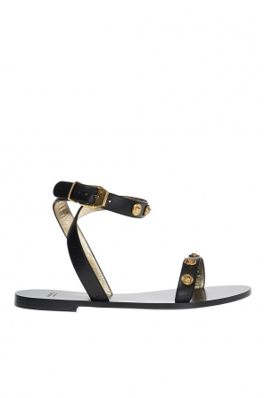 Embellished sandals od Versace