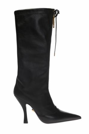 Heeled knee-high boots od Versace
