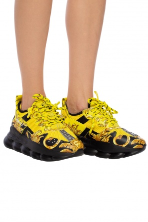 'chain reaction' sneakers with logo od Versace