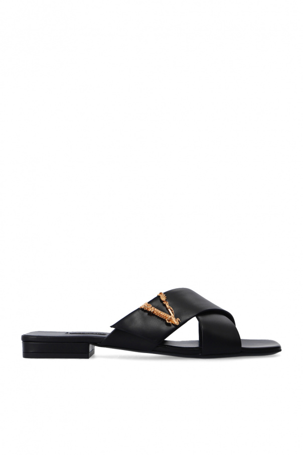 Versace Slides with logo