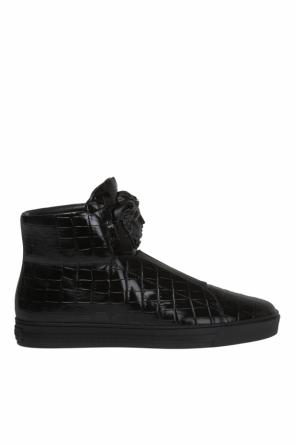 Leather sneakers od Versace