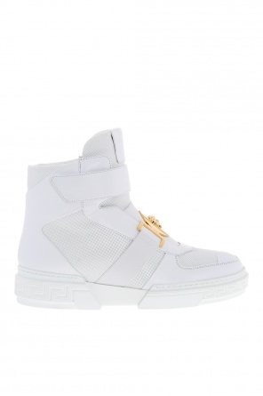 Perforated high-top sneakers od Versace