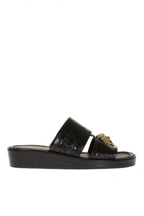 Wedge mules od Versace