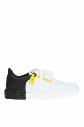 Sneakers with zip od Versace