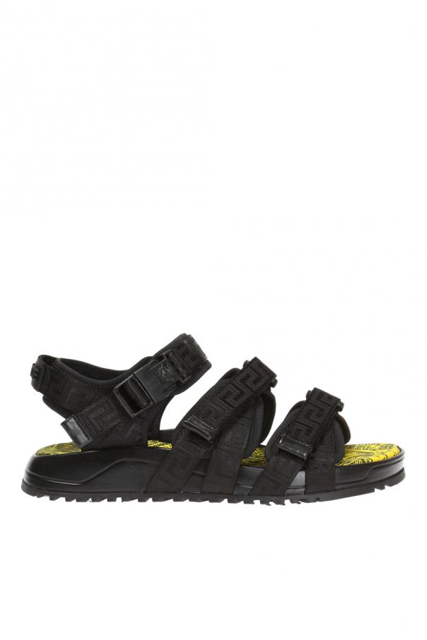 9b7e67310b7 Logo sandals Versace - Vitkac shop online