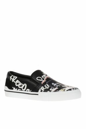Printed slip-on sneakers od Versace