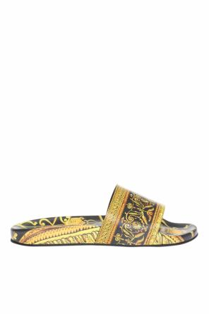 Baroque motif sliders od Versace